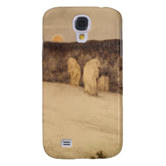 Stalks of Grain in Moonlight Samsung Galaxy S4 Covers
