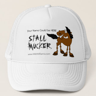 Stall Mucker Personalized Hat