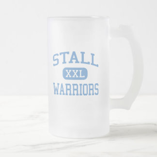 Stall - Warriors - High - Charleston 16 Oz Frosted Glass Beer Mug