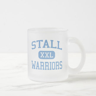Stall - Warriors - High - Charleston 10 Oz Frosted Glass Coffee Mug