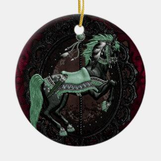 Stallion Ceramic Ornament