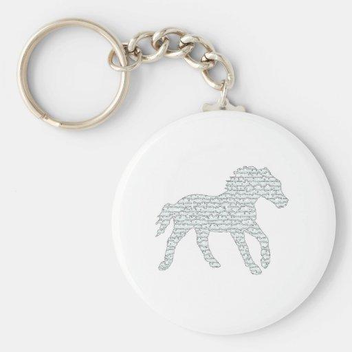 Stallion Eyes Keychains
