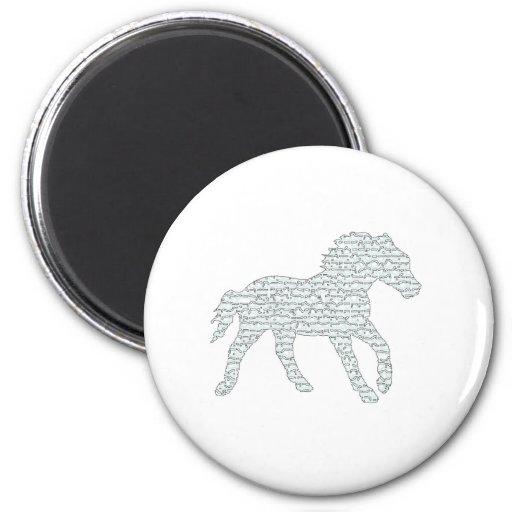 Stallion Eyes Refrigerator Magnets