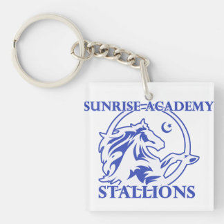 Stallion Logo Keychain