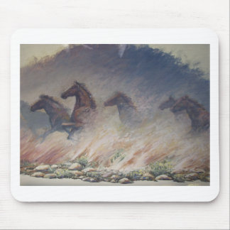 Stallion Stampede Mouse Pad