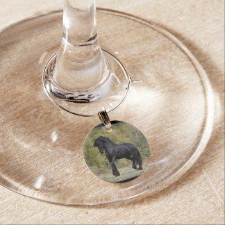 Stallion Strut Wine Charm