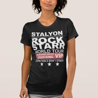 STALYON ROCK STARR JESUS VIP T-SHIRT