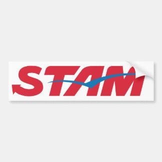 Stam Bumper Stickers