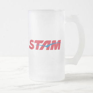 Stam Frosted Glass Beer Mug