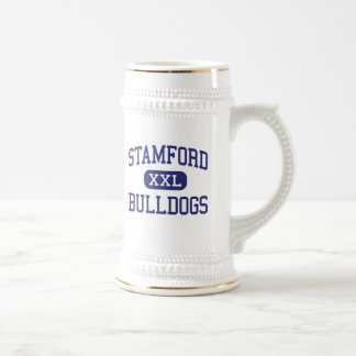 Stamford Bulldogs Middle Stamford Texas 18 Oz Beer Stein