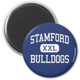 Stamford Bulldogs Middle Stamford Texas 2 Inch Round Magnet