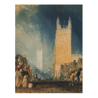 Stamford by William Turner Postcard