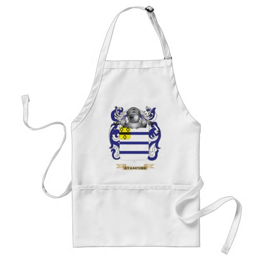 Stamford Coat of Arms (Family Crest) Adult Apron