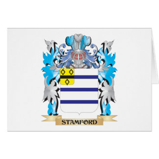 Stamford Coat of Arms - Family Crest Stationery Note Card