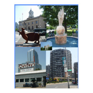 Stamford Ct Downtown Center Postcard