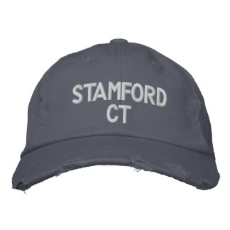 STAMFORD CT - EMBROIDERED CAP
