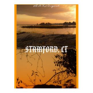 Stamford, CT Postcard