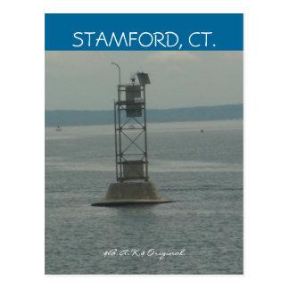 Stamford, Ct Water View Postcard...