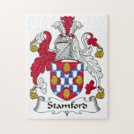 Stamford Family Crest Jigsaw Puzzles
