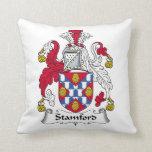 Stamford Family Crest Pillow