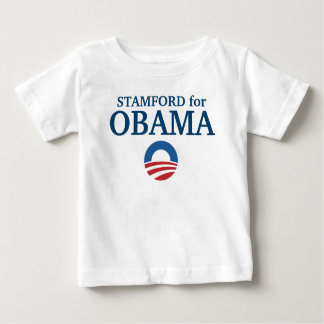 STAMFORD for Obama custom your city personalized T Shirts