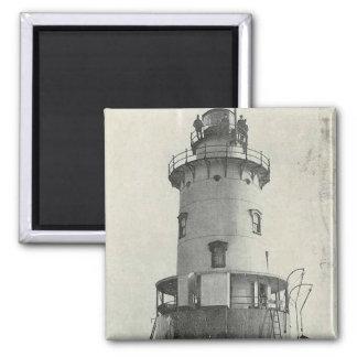 Stamford Harbor Ledge Lighthouse Magnet