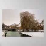 Stamford in Winter Poster