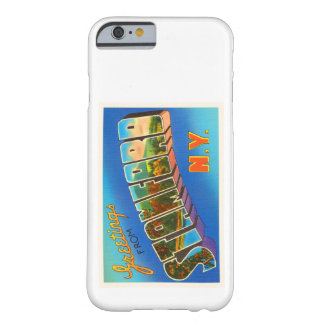 Stamford New York NY Old Vintage Travel Souvenir Barely There iPhone 6 Case