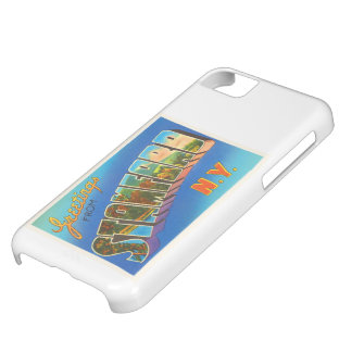 Stamford New York NY Old Vintage Travel Souvenir Cover For iPhone 5C