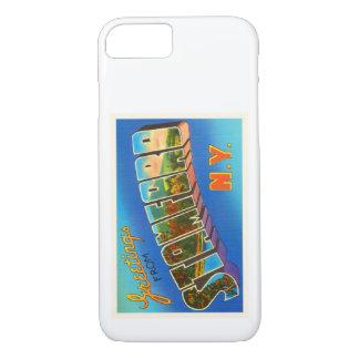 Stamford New York NY Old Vintage Travel Souvenir iPhone 8/7 Case