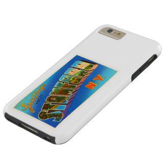 Stamford New York NY Old Vintage Travel Souvenir Tough iPhone 6 Plus Case