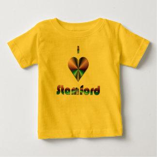 Stamford -- Purple & Turquoise Baby T-Shirt
