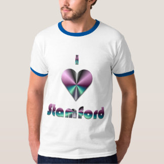 Stamford -- Purple & Turquoise T-Shirt