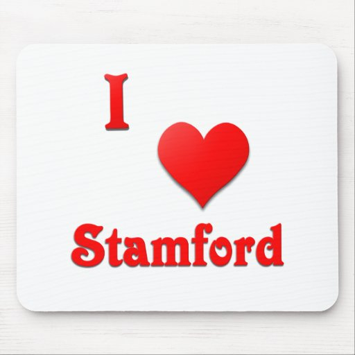 Stamford -- Red Mouse Pad
