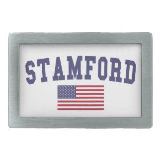 Stamford US Flag Belt Buckle