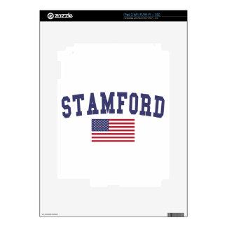 Stamford US Flag iPad 2 Decal