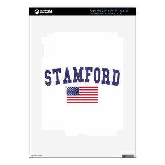 Stamford US Flag iPad 3 Decal