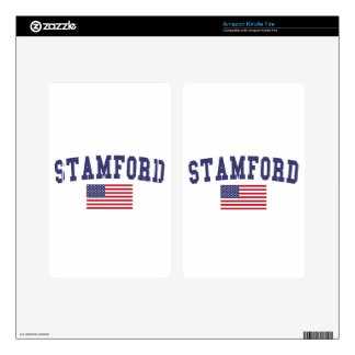 Stamford US Flag Kindle Fire Decal