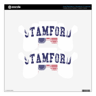 Stamford US Flag Skin For PS3 Controller