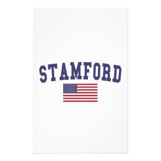 Stamford US Flag Stationery
