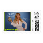 Stamp4.psd, Adventure Girl Postage Stamp