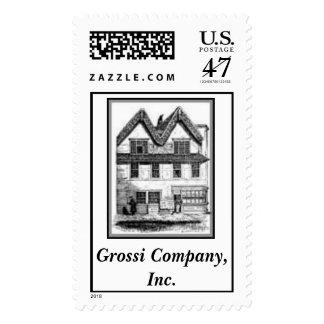 stamp-1, Grossi Company, Inc. Postage
