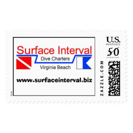 Stamp, 39c with Surface Interval logo Postage