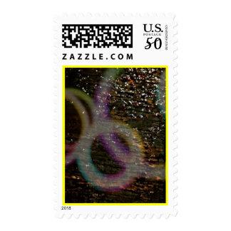 Stamp  Abstract Circles