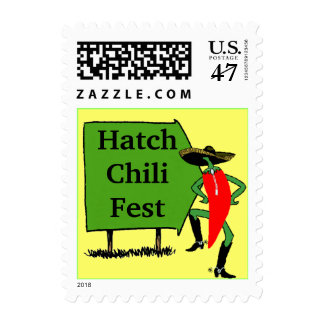 Stamp Announcements Stamps Sign Hatch Chili Fest
