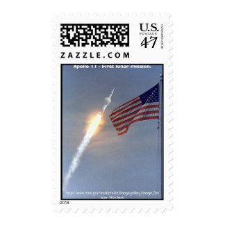 Stamp / Apollo 11 - July 16, 1969