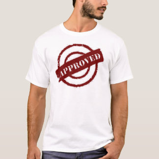 stamp approved red T-Shirt
