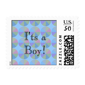 STAMP_BABY_IT'S A BOY POSTAGE