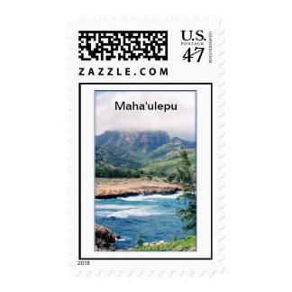 Stamp-Black Mountain-Kauai Maha'ulepu Postage