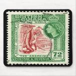 Stamp British Guiana 1954 72c Mouse Mat
